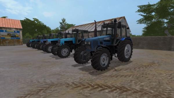 Мод трактор МТЗ-1221 V1.0 для Farming Simulator 2015