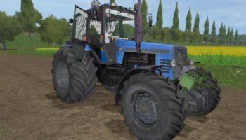 Мод трактор МТЗ-1221 v2.1 для Farming Simulator 2015