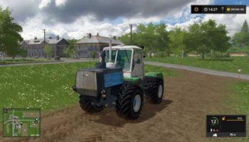 Мод трактор Т-150К ХТЗ ЦВЕТНОЙ V1.0 для Farming Simulator 2015