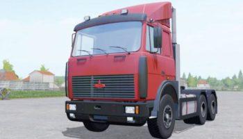 Мод тягач МАЗ 6422 v2.0 для Farming Simulator 2015
