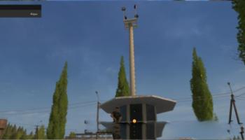 Мод пост охраны для карты Дары Кавказа v 1.0 для Farming Simulator 2015
