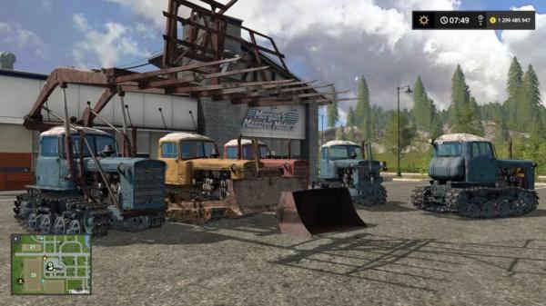 Мод ДТ-75 КАЗАХСТАН И ОТВАЛ V16.11.18 для Farming Simulator 2015