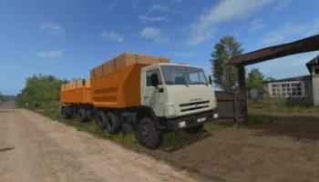 Мод ПАК КАМАЗ-55111 V07.06.19 для Farming Simulator 2015