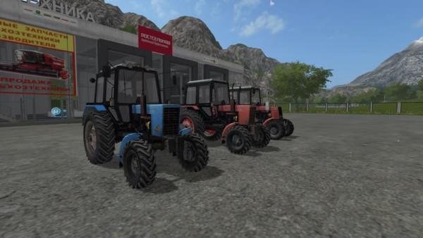 Мод ПАК МТЗ-82.1 V1.1 для Farming Simulator 2015