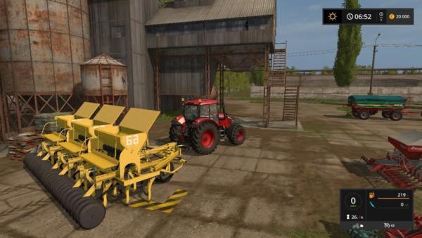 Мод СЕЯЛКА 3-СЗC-2.1 V0.1 для Farming Simulator 2015