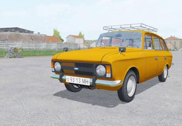 Мод авто ИЖ-21251 КОМБИ V1.0 для Farming Simulator 2015