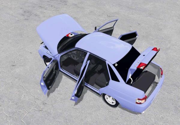 Мод авто LADA 110 V1.0 для Farming Simulator 2015