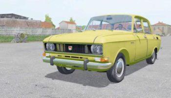 Мод авто МОСКВИЧ-2140 V1.1 для Farming Simulator 2015