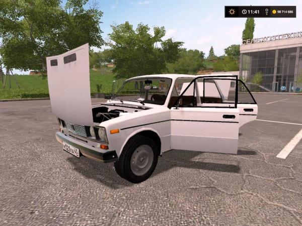 Мод авто ВА3 21061 V2.0 для Farming Simulator 2015