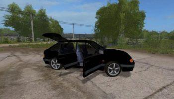 Мод авто ВАЗ-2114 СПУТНИК V1.1 для Farming Simulator 2015