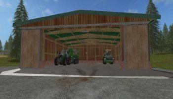 Мод гараж HALL V1.0 для Farming Simulator 2015