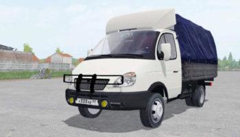 Мод грузовик ГАЗ-3302 ГАЗЕЛЬ V3.0 для Farming Simulator 2015