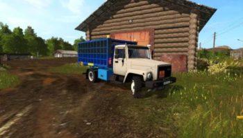 Мод грузовик ГАЗ-3309-1017 V1.1 для Farming Simulator 2015