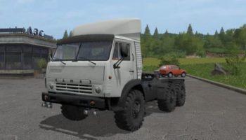 Мод грузовик КАМАЗ 4310 6Х6 MR V1.1 для Farming Simulator 2015