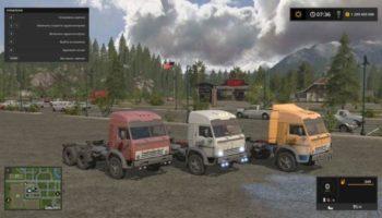Мод грузовик КАМАЗ 5410 MOREREALISTIC V1.0 для Farming Simulator 2015