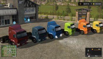 Мод грузовик КАМАЗ-5460 GEARBOX V3.0 для Farming Simulator 2015