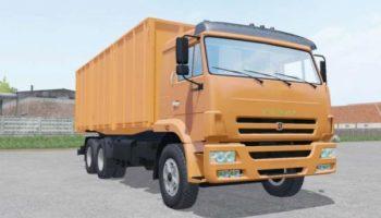 Мод грузовик КАМАЗ-65117 V3.0 для Farming Simulator 2015