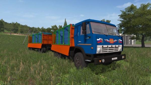 Мод грузовик КАМАЗ СЕЛЬХОЗНИК V1.2 для Farming Simulator 2015