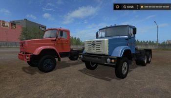Мод грузовик ЗИЛ-13305А V 1.0 для Farming Simulator 2015