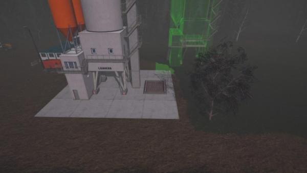 Мод хранилище CONSTRUCTION SITES SILO PLACEABLE V1.5 для Farming Simulator 2015