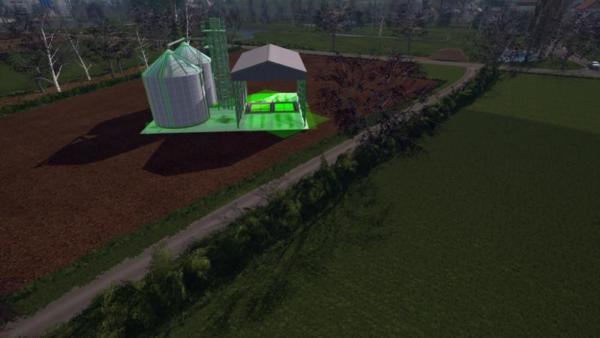 Мод хранилище FARMSILO V1.1 для Farming Simulator 2015