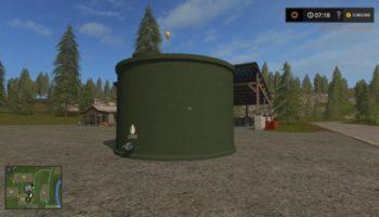 Мод хранилище для воды WATER COLLECTOR STORAGE V1.0 для Farming Simulator 2015