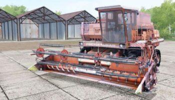 Мод комбайн ДОН-1500А С ПРИСПОСОБЛЕНИЯМИ V1.0 для Farming Simulator 2015