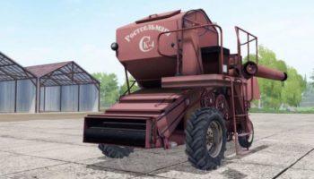 Мод комбайн СК-4 V1.1 для Farming Simulator 2015