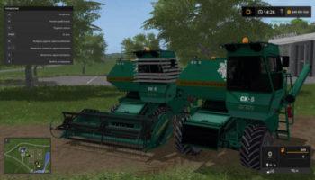 Мод комбайн СК-5 НИВА ЗЕЛЁНАЯ V1.0 для Farming Simulator 2015