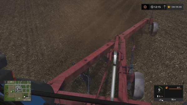 Мод плуг ПЛН 6-35 V1.0 для Farming Simulator 2015
