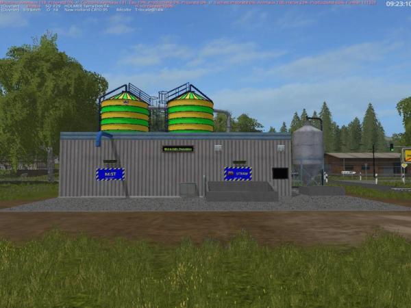 Мод производство MIST GUELLE ANLAGE PLACEABLE V1.0 для Farming Simulator 2015