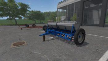 Мод сеялка АСТРА СЗТ 3.6А + СЦЕПКА V3.1 для Farming Simulator 2015