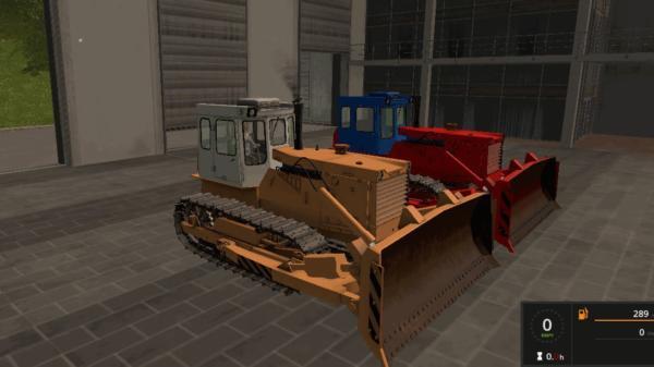 Мод трактор ЧТЗ Т-170 V1.3.1 для Farming Simulator 2015