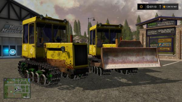 Мод трактор ДТ-75МЛ V1.5 для Farming Simulator 2015