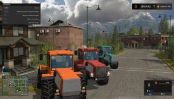 Мод трактор ХТА 220 СЛОБОЖАНЕЦ V1.0 для Farming Simulator 2015