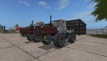 Мод трактор ХТЗ Т-150К V1.2 для Farming Simulator 2015