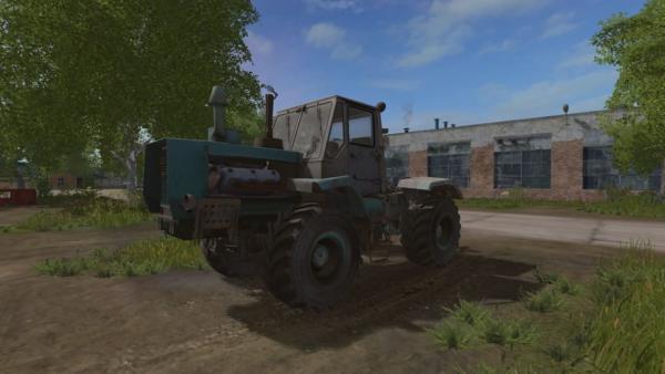 Мод трактор ХТЗ Т-150К V1.3 для Farming Simulator 2015