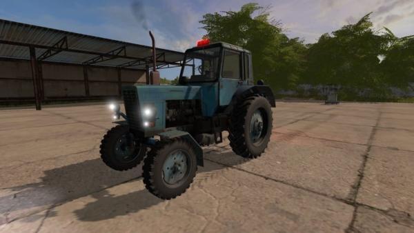 Мод трактор МТЗ-80 V1.0 для Farming Simulator 2015