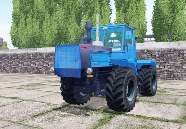 Мод трактор Т-150К СИНИЙ V1.0 для Farming Simulator 2015