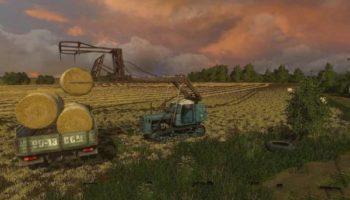 Мод трактор ДТ-75 КАЗАХСТАН V 2.1 для Farming Simulator 2015