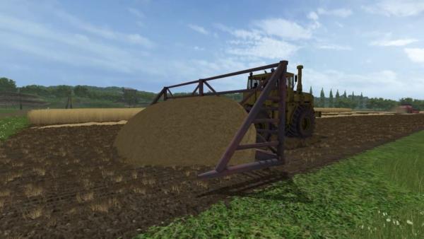 Мод волокуша V2.0 для Farming Simulator 2015