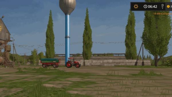 Мод водонапорная башня WATER TOWER V1.0 для Farming Simulator 2015