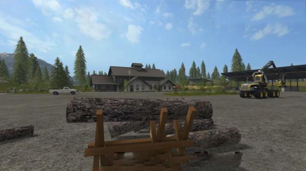 Мод SAWHORSE V1.0 для Farming Simulator 2015