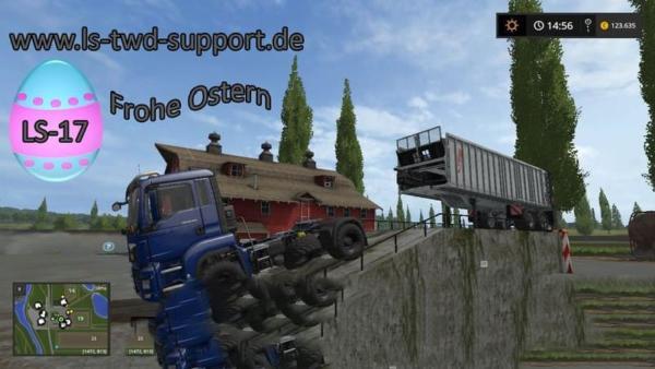 Мод рампа LOADING RAMP 10 METERS LONG V1.0 для Farming Simulator 2015