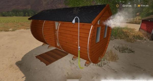 Мод Placeable Sauner v1.0 для Farming Simulator 2015