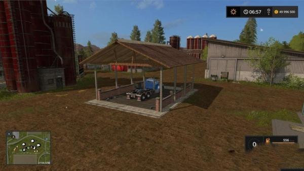 Мод мойка STATION DE LAVAGE V1.1 для Farming Simulator 2015