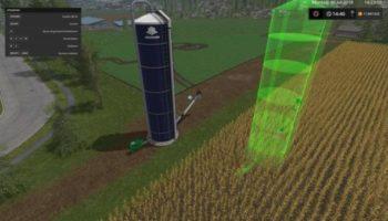 Мод ПАК HARVESTORE SILO PLACEABLE V1.0 для Farming Simulator 2015