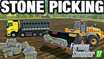 Мод ПАК STONES PACK V1.0 для Farming Simulator 2015