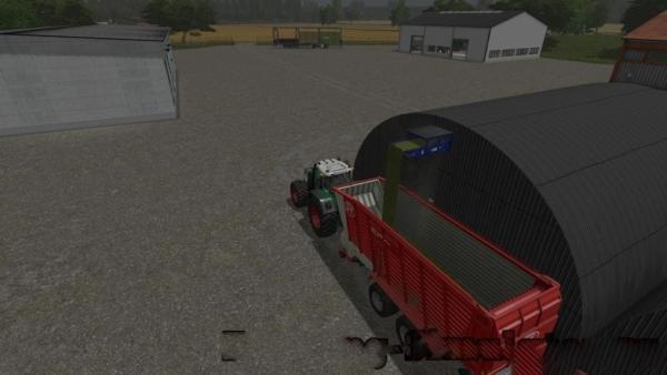 Мод хранилище PLACEABLE STORAGE FOR FEED V1.0 для Farming Simulator 2015