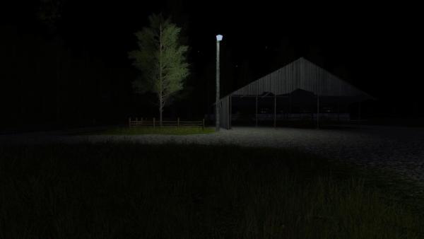 Мод PLACEABLE MERCURY VAPOR LIGHT V2.0 для Farming Simulator 2015